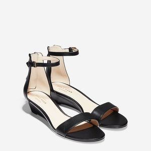 Cole Haan Womens adderly Leather Open Toe sandal
